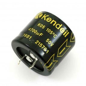 Kendeil  K050504720PM0DA Condensatore Elettrolitico Kendeil 4700µF 50VDC 105°