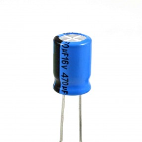 Lelon REA471M1CSA-0811P Condensatore Elettrolitico 470uF 16 Volt 85°C Lelon 8x11,5