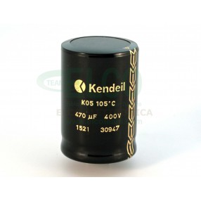 Condensatore elettrolitico Kendeil 470µF 400VDC 105°C 35x50