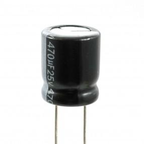 Lelon REA471M1ESA-1012G Condensatore Elettrolitico 470uF 25 Volt 105°C 10x12 Nastrato