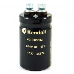 Condensatore Elettrolitico Kendeil 6800uF 63V 35x60 mm terminali a vite K01063682