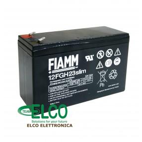 Fiamm 12FGH23slim Batteria al piombo 12V 5Ah ad alta corrente di scarica