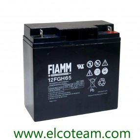 Fiamm 12FGH65 Batteria al piombo 12V 18Ah ad alta corrente di scarica