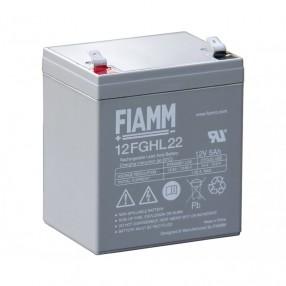 Fiamm 12FGHL22 Batteria ermetica al piombo 12V 5Ah Long