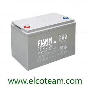Fiamm 12FGL100 Batteria ermetica al piombo 12V 100Ah Long Life