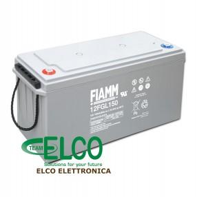 Fiamm 12FGL150 Batteria ermetica al piombo 12V 150Ah Long Life