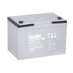 Fiamm 12FGL70 Batteria ermetica al piombo 12V 70Ah Long Life