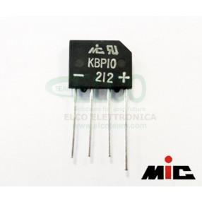 MIC KBP10 Ponte a Diodi Monofase