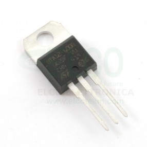 STMicroelectronics BTA12-700B Triac 16A 700V (immagine indicativa)