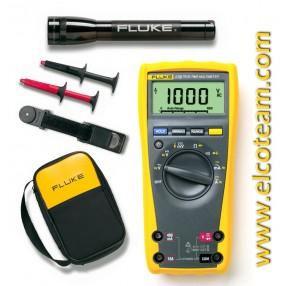 Multimetro digitale Fluke 179 + Borsa + Torcia Maglite