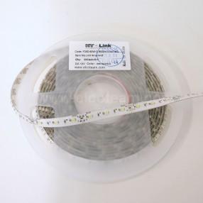Striscia LED 5 Metri Colore Bianco Freddo 12 VDC IP65 4,8W/m