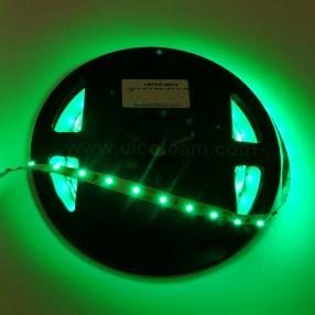 Striscia LED 5 Metri Colore Verde 12 VDC IP30 4,8W/m