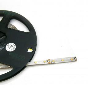 Strip flessibile Led SMD Bianco Freddo 12V, 4,8W/m, IP65, modulo 5 cm