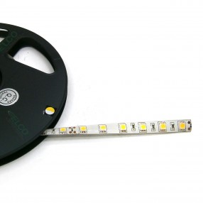 Strip Led Bianco Caldo 24V, 14,4W/m, IP65, modulo 5 cm