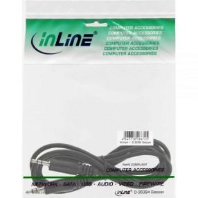 InLine® 99932 Cavo Audio Jack 3,5mm Stereo Maschio/Maschio 1,5mt