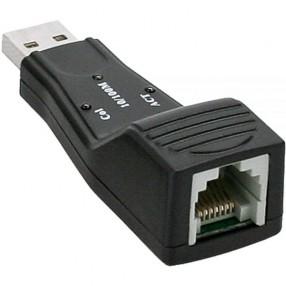 InLine 33380H Adattatore USB 2.0 Porta Ethernet RJ45