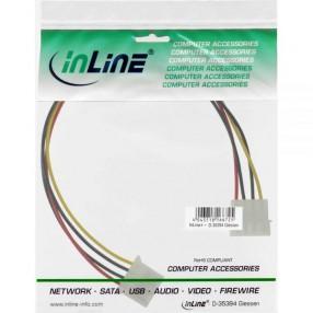 InLine 29650 Prolunga Alimentazione 4 Pin IDE/PATA 30 cm