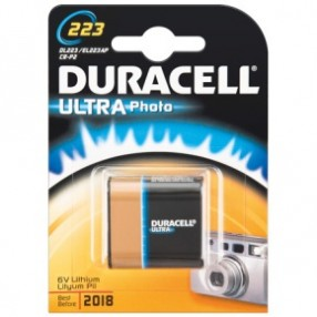 Pila DURACELL Photo tipo 223