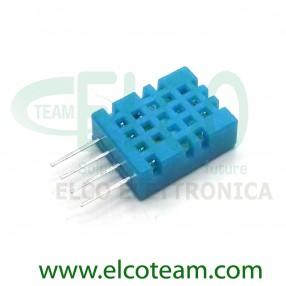 DHT11 Sensore Digitale Misura Temperatura e Umidità