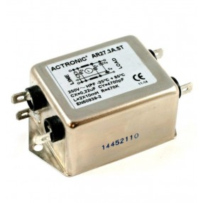 Actronic AR27.3A.ST Filtro EMI High Power da 3 Ampere