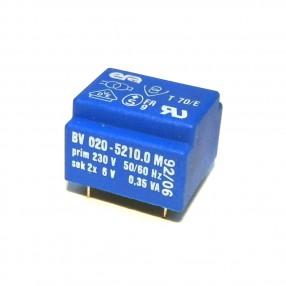Trasformatore Incapsulato ERA 230V - 2x6V - 0,35VA BV020