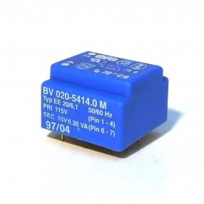 Trasformatore Incapsulato Era EE20 0,35VA - 115V - 15V