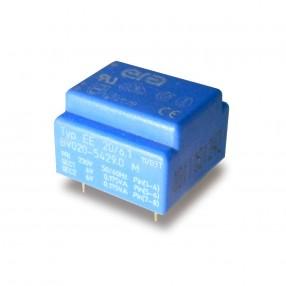 Trasformatore Incapsulato Era EE20 0,35VA - 230V - 2x6V