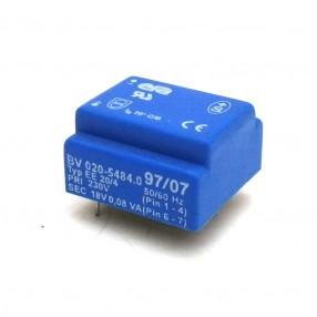 Trasformatore Incapsulato ERA 230V - 18V - 0,08VA EE20