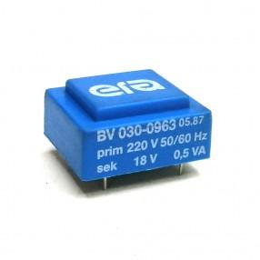Trasformatore Incapsulato Era BV030-0963 0,5VA 220V - 18V