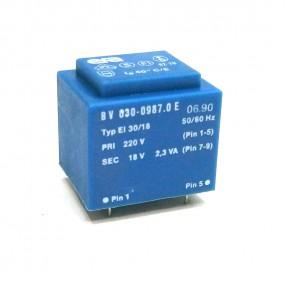 Trasformatore Incapsulato Era EI30/18 2,3VA 220V - 18V