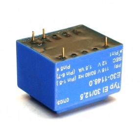 Trasformatore Incapsulato Era EI30/12,5 1,5VA - 115V - 12V