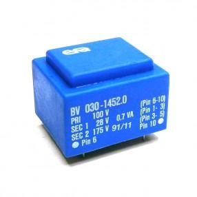 Trasformatore Incapsulato Era EI30/10,5 0,7VA 100V - 28V - 175V