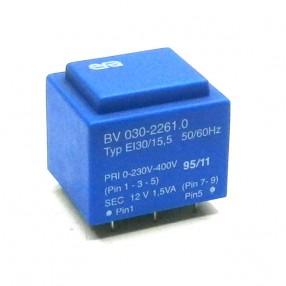 Trasformatore Incapsulato Era EI30/15,5 1,5VA Pri-0-230V-400V Sec-12V
