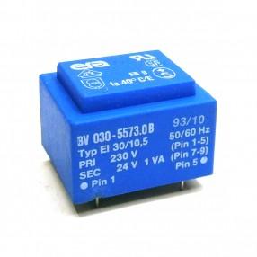 Trasformatore Incapsulato Era EI30/10,5 1VA 230V - 24V