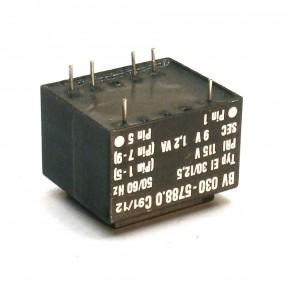 Trasformatore Incapsulato Era EI30/12,5 1,2VA - 115V - 9V