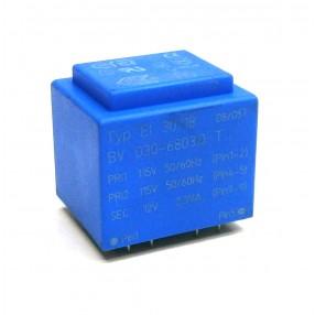 Trasformatore Incapsulato Era EI30/18 2,3VA 2x115V - 12V