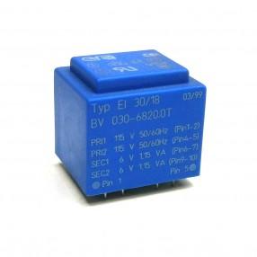 Trasformatore Incapsulato Era EI30/18 2,3VA 2x115V - 2x6V