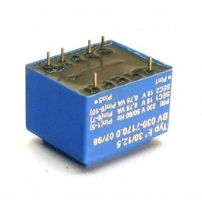 Trasformatore Incapsulato Era EI30/12,5 1,5VA - 230V - 2x18V