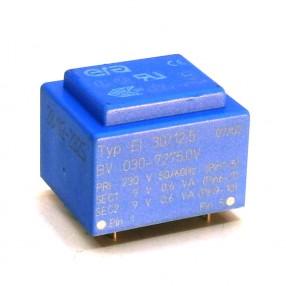 Trasformatore Incapsulato Era EI30/12,5 1,2VA - 230V - 2x9V