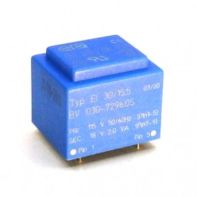 Trasformatore Incapsulato Era EI30/15,5 2VA - 115V - 18V