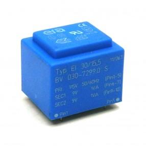Trasformatore Incapsulato Era EI30/15,5 2VA - 115V - 2x9V