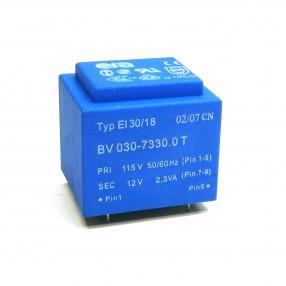 Trasformatore Incapsulato Era EI30/18 2,3VA 115V - 12V