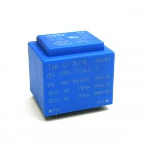 Trasformatore Incapsulato Era EI30/18 2,3VA 115V - 2x6V