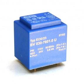 Trasformatore Incapsulato Era EI30/23 2,8VA - 115V - 24V