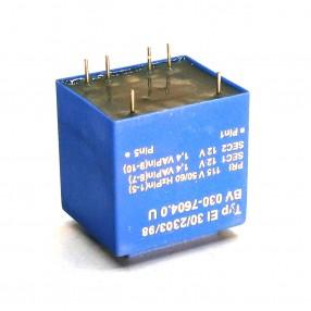 Trasformatore Incapsulato Era EI30/23 2,8VA - 115V - 2x12V