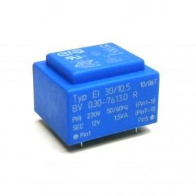 Trasformatore Incapsulato Era EI30/10,5 1,5VA - 230V - 12V