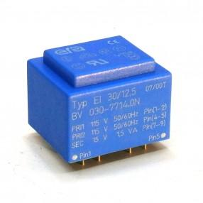 Trasformatore Incapsulato Era EI30/12,5 1,5VA - 2x115V - 15V
