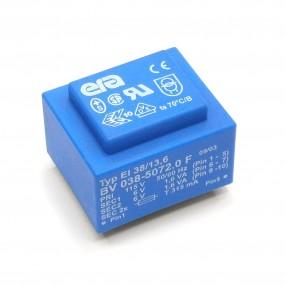 Trasformatore Incapsulato ERA EI38/13,6 3,2VA - 115V - 2x6V