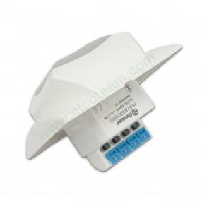 Finder 18.51.8.230.B300 Rilevatore di Movimento per Interno con Bluetooth Low Energy BLE