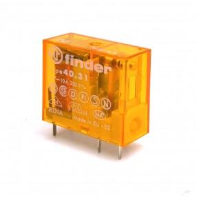 Finder 40318024 Relè Elettromeccanico Bobina Sensibile 24 VAC